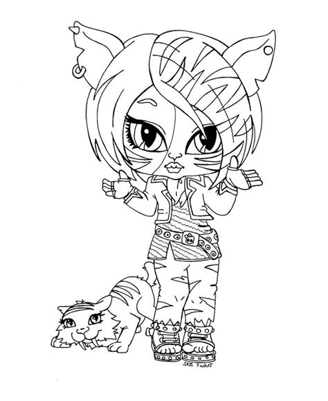 monster high baby coloring pages coloring home
