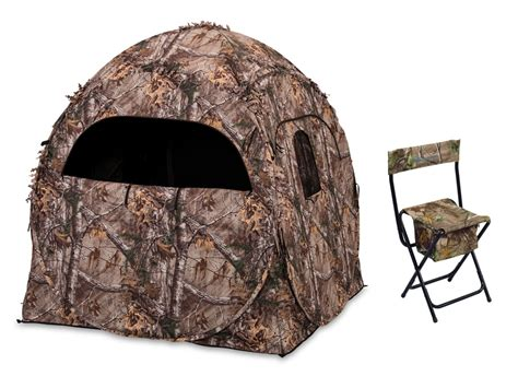 ameristep chairblind combo ameristep doghouse ground blind combo realtree ap camo