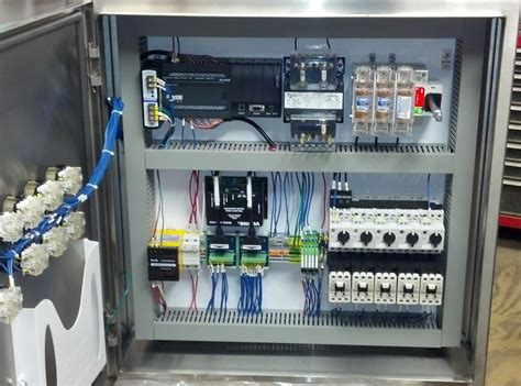 Home Network Wiring Cabinet - electrical control panel layout
