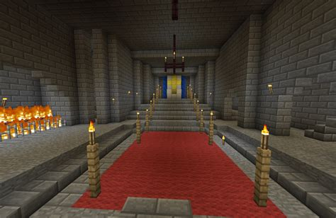 Minecraft Castle Dining Room Castle Update To 1 4 Minecraft Project