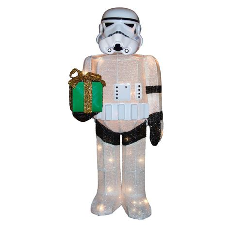 home depot star wars lights kurt s adler 36 in star wars storm trooper yard decor