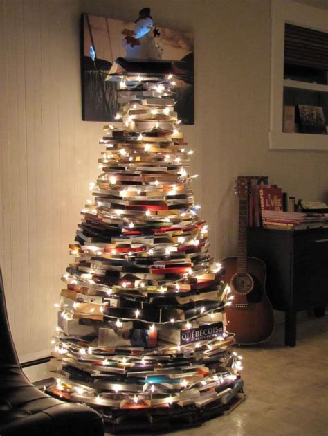 christmas tree books a christmas tree made from books bobbi s blog