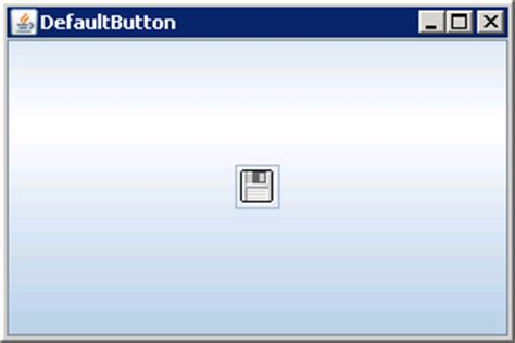 tutorial java button adding a disabled icon to a jbutton component jbutton