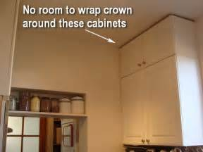 how to design and install an improvised kitchen crown transforming home how to add crown molding to kitchen