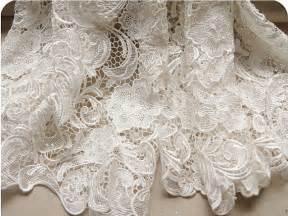 white wedding lace fabric bridal lace dress wedding by