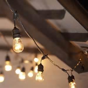 Patio Light Strands by Bulb String Lights Indoor Amp Outdoor Lighting Strands