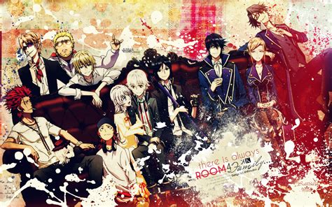 wallpaper anime k project animehead brothers woodpecker k project review