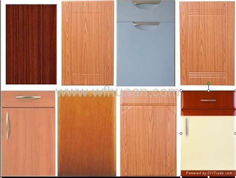 Kitchen Cabinet Door Suppliers Pvc Glass Cabinet Door 004 Dfw China Manufacturer