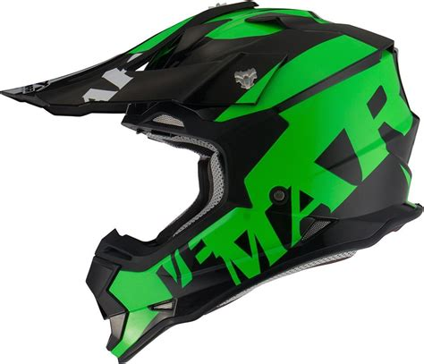 green motocross helmet vemar helmets carbon cheap vemar taku invasion motocross