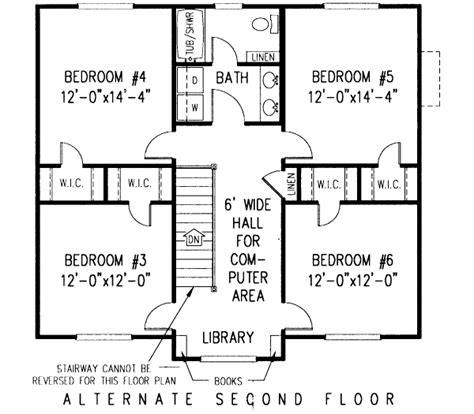 Country Style House Plans 2750 Square Foot Home 2 6 Bedroom 2 Story Bat House Plans