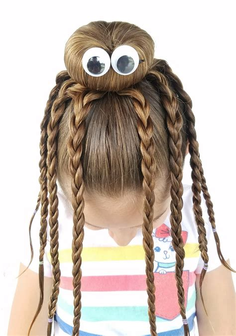 hairstyles for long hair for halloween we had fun creating this octopus bun hairstyle with my
