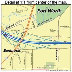 benbrook map 4807552