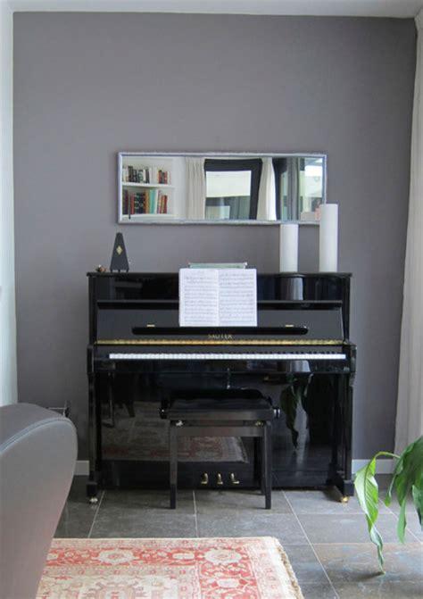 mirror  piano contemporary living room