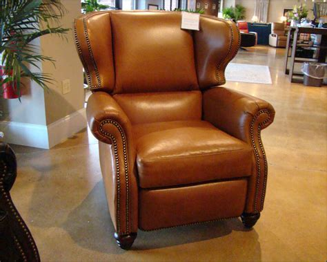 leather wingback recliners wingback leather recliner american made cl735