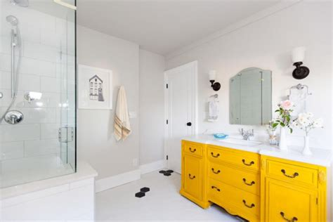 bright yellow bathroom 20 minimalist bathroom designs decorating ideas design