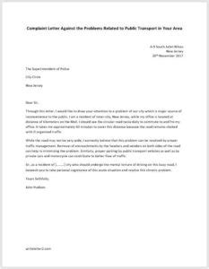Complaint Letter Network Problem how to write letter to government official with an exle