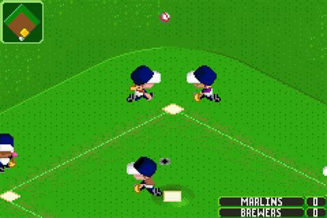 Backyard Baseball 2007 Gba by Backyard Sports Baseball 2007 Gamefabrique