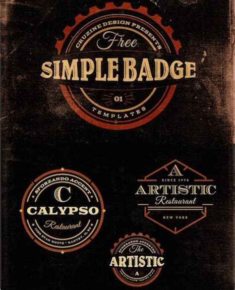 latest free vintage logo templates neo design