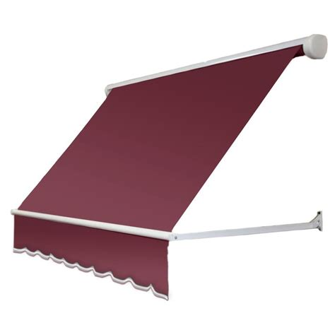 mesa awnings nuimage awnings 3 ft 3700 series fabric window awning 23 in h x 18 in d in