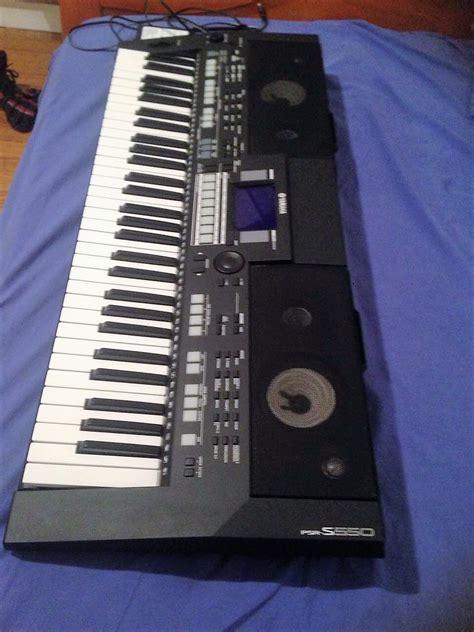 Keyboard Yamaha Psr S550 Second yamaha psr s550 image 1834308 audiofanzine