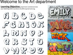tag   graffiti style teaching resources