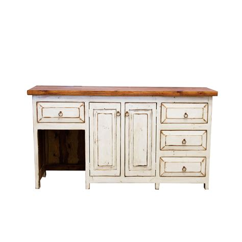 purchase rustic vanity with sitting area