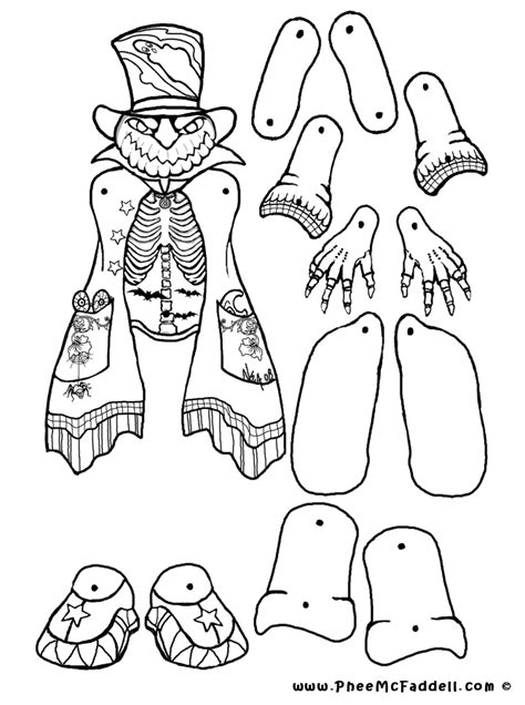 free coloring pages of marionette fnaf
