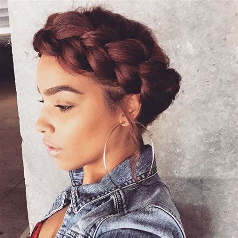 halo braid african american hair best 25 halo braid with weave ideas on pinterest halo