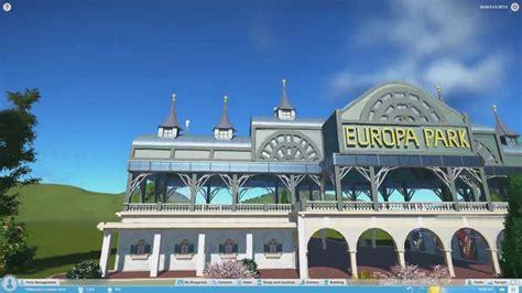 europa park eingang europa park eingang entrance planet coaster alpha 3