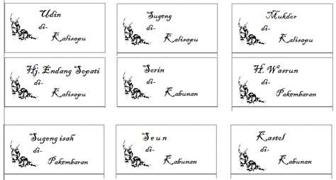 format label 103 untuk undangan download undangan gratis desain undangan pernikahan
