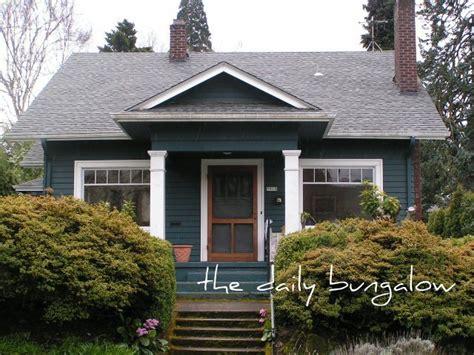 white trim craftsman bungalow house part of the salt bungalow mt tabor neighborhood tiny bungalow bungalow