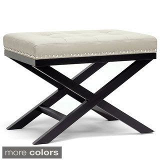 and walnut traditional x leg bench ottoman 1000 ideas about traditional living rooms on