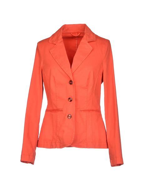 Blazer Orange esologue blazer in orange lyst