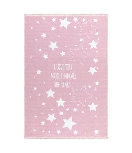 tappeto rosa tappeto rosa con stelle bianche la cameretta di pippi