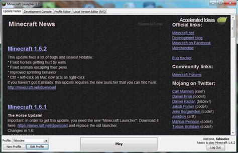 full version minecraft launcher old version of minecraft launcher minecraft play old