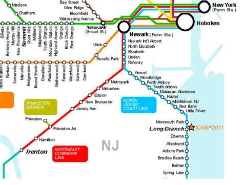new jersey transit map njtransit map my