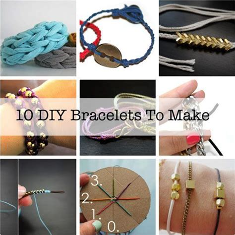 10 diy bracelets you ll want to make