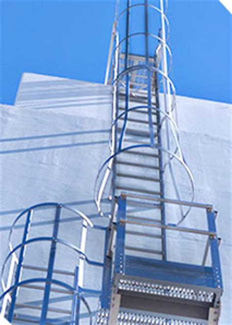 fixed access aluminum ladder alaco ladder