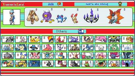 how to make trainer card trainer card by demoncook on deviantart