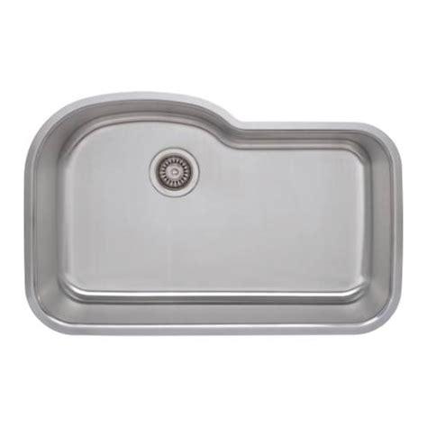 undermount offset single bowl sink sinkware 18 offset single bowl undermount