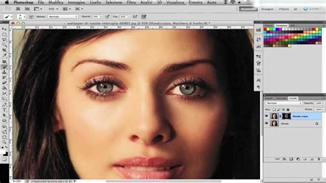 tutorial photoshop italiano tutorial photoshop italiano cs5 effetto soft skin pelle