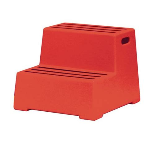 Polyethylene Step Stool 3 Steps by Safety Step Plastic Two Step Step Stools Steps