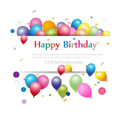 happy birthday text design free happy birthday background banner design for your text