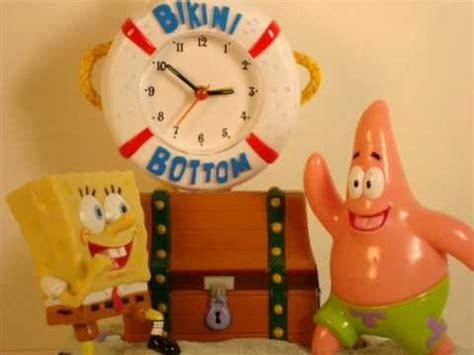 sponge bob talking clocks wmv