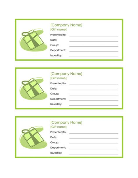 gift certificate template pages certificate of achievement office templates