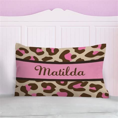 animal print pillow personalized animal print pillow