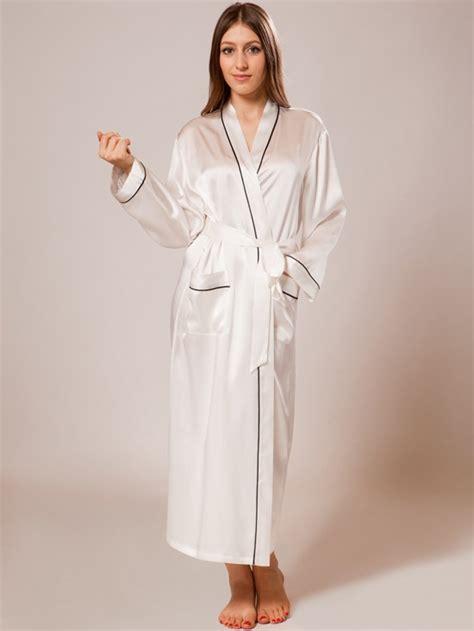 silk robe silk robes sw26blk