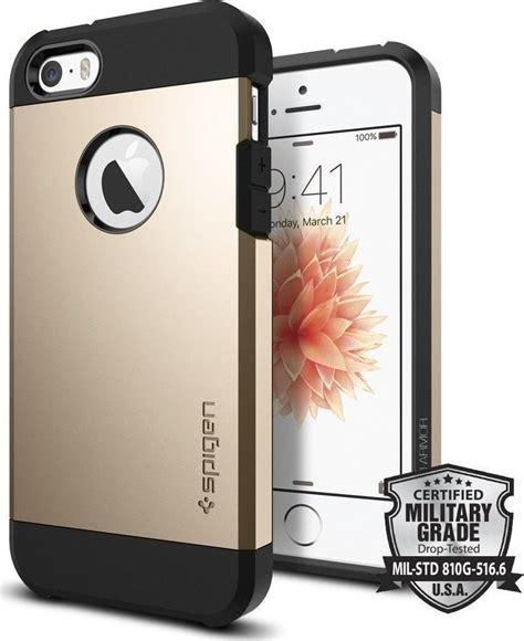 Spigen Iphone 5 Tough Armor spigen tough armor chagne gold iphone 5 5s se
