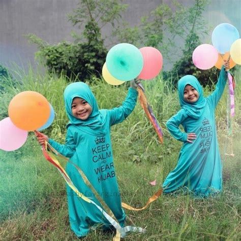 Gamis Qirani Fresh Diskon Qdf 26 lucunya gaya hijabers cilik imut ini co id