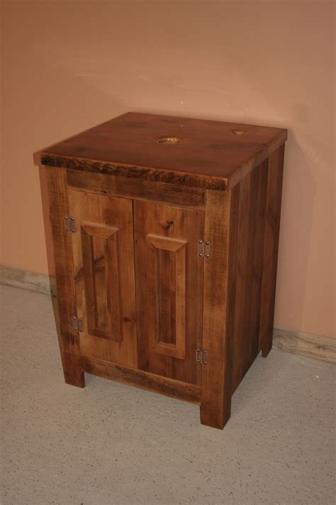 authentic barnwood vanity barn wood furniture rustic